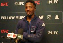 Sodiq Yusuff, UFC Philadelphia media day UFC 241