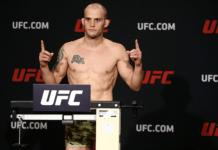 UFC Ottawa Mitch Gagnon