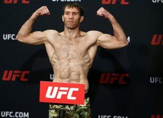 UFC St. Petersburg Sultan Aliev