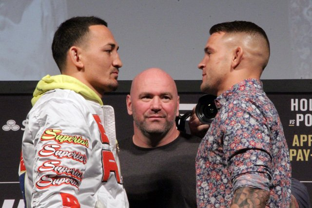 Max Holloway and Dustin Porier, UFC