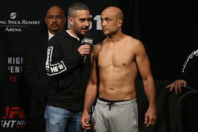 B.J. Penn UFC 2019