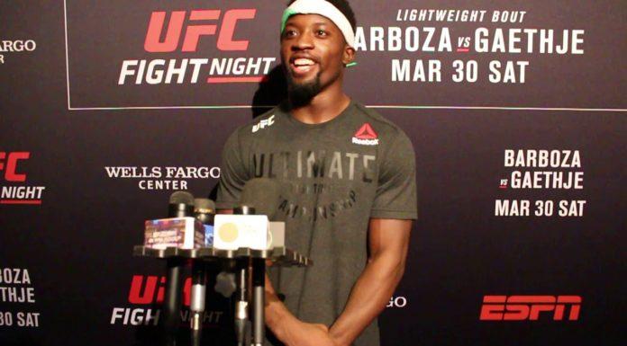 Sodiq Yusuff UFC