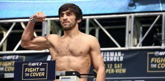 Magomed mustafaev UFC St. Petersburg
