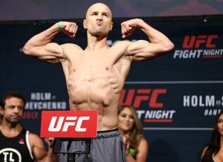 Alexander Yakovlev UFC St. Petersburg