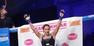 UFC Stockholm Lina Lansberg