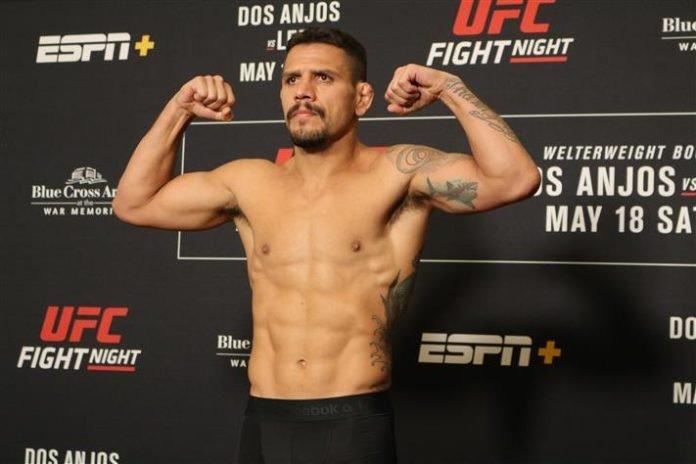 Rafael dos Anjos, UFC Rochester weigh-in