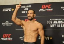 UFC 242 Davi Ramos Mairbek Taisumov Carlos Diego Ferreira Islam Makhachev