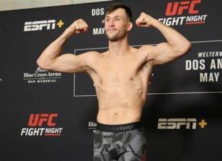 Julian Erosa UFC