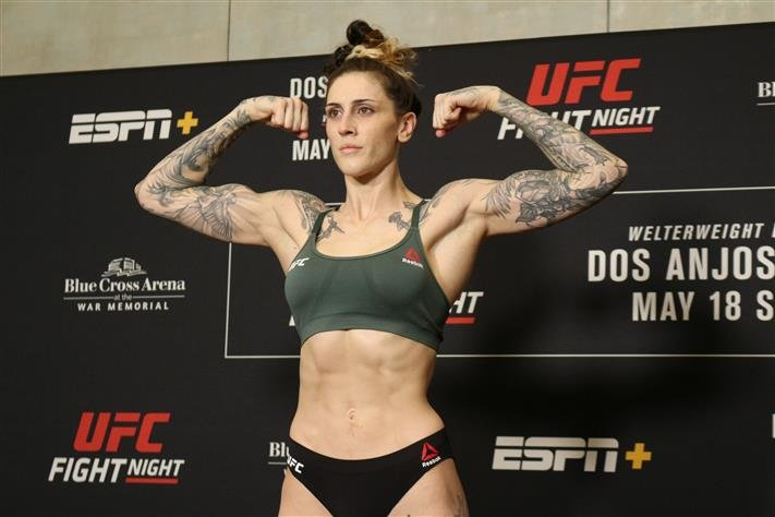 Ufc 243 Results Megan Anderson Back In Win Column With