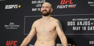 Zak Cummings UFC