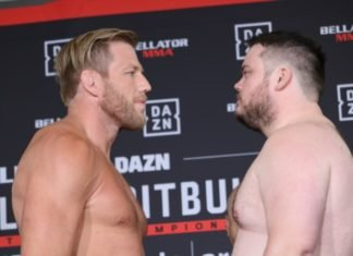Jack Swagger and TJ Jones ahead of Bellator 221