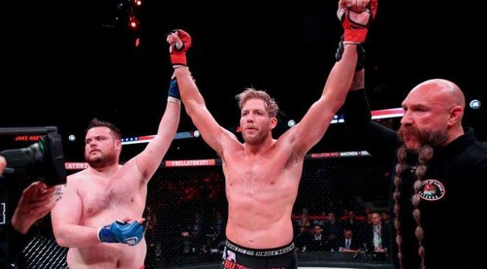Jake Hager and TJ Jones, Bellator MMA