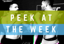Peek at the Week UFC Rochester