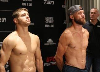Al Iaquinta and Donald Cerrone ahead of UFC Ottawa