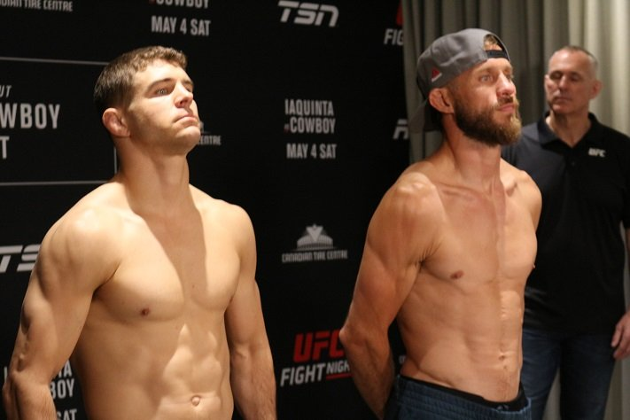 Al Iaquinta and Donald Cerrone ahead of UFC Ottawa