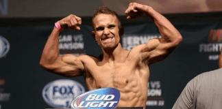Nick hein UFC Stockholm