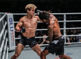 Sage Northcutt knocked out by Cosmo Alexandre