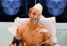 Sage Northcutt in hospital