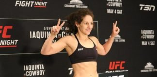 Sarah Moras UFC