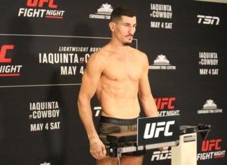 Nordine Taleb UFC