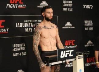 Shane Burgos UFC