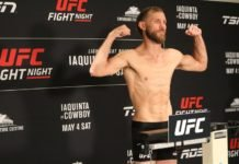 UFC Ottawa Donald Cerrone