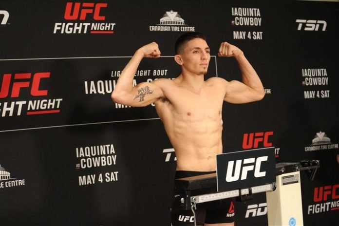 Vince Morales UFC Ottawa