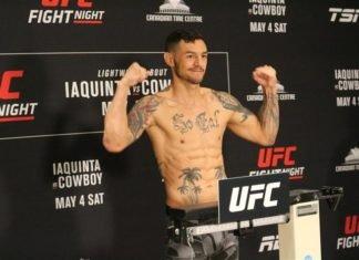 UFC San Francisco Cub Swanson Kron Gracie