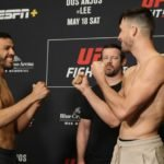 Julio Arce vs. Julian Erosa face off ahead of UFC Rochester