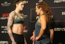 Megan Anderson and Felicia Spencer, UFC Rochester