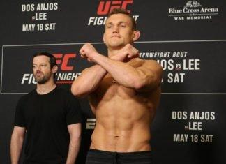 UFC Rochester Face Offs 37 Ian Heinisch