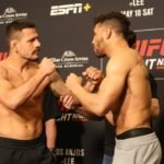 Rafael dos Anjos and Kevin Lee, UFC Rochester