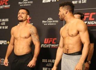 UFC Rochester Rafael dos Anjos