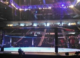 UFC Rochester octagon