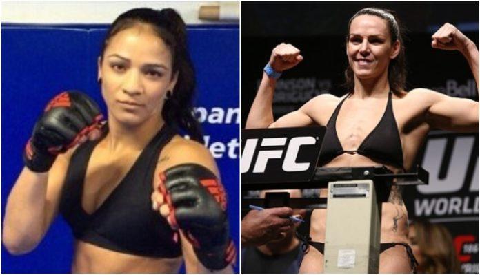 Viviane Araujo Alexis Davis UFC 240