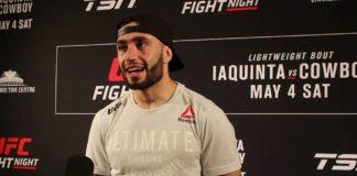Shane Burgos, UFC Ottawa