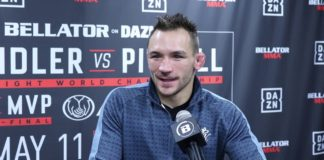 Michael Chandler, Bellator 221