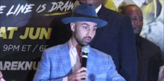 Paulie Malignaggi, BKFC Press conference
