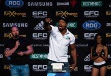 UFC Minneapolis Dalcha Lungiambula