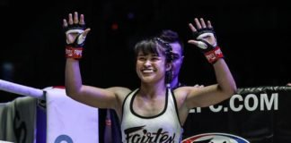 Stamp Fairtex at ONE Championship: Legendary Quest