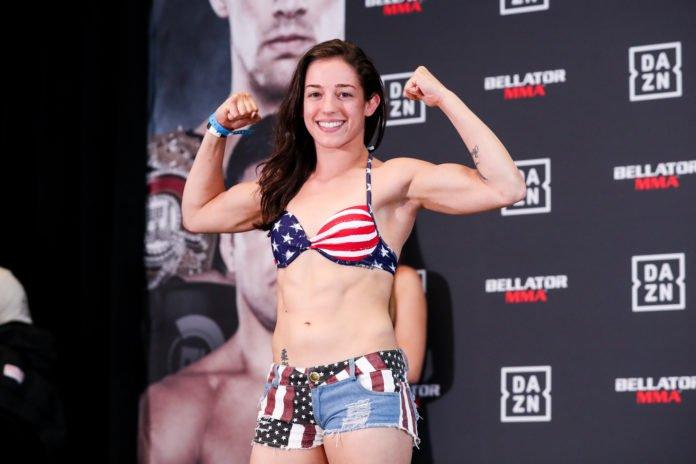 Lindsey VanZandt Bellator 222