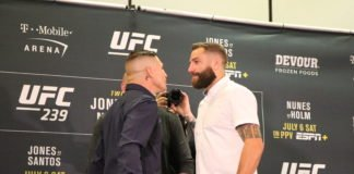 Diego Sanchez and Michael Chiesa UFC