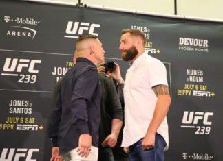 Diego Sanchez and Michael Chiesa UFC