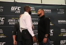 Jon Jones and Thiago Santos UFC 239