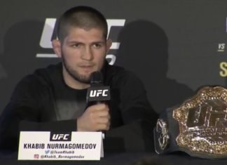 Khabib Nurmagomedov UFC 242 press conference
