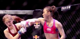 Yan Xiaonan UFC 238 UFC Auckland