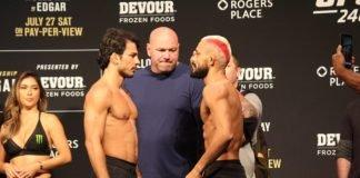Alexandre Pantoja vs Deiveson Figueiredo, UFC 240