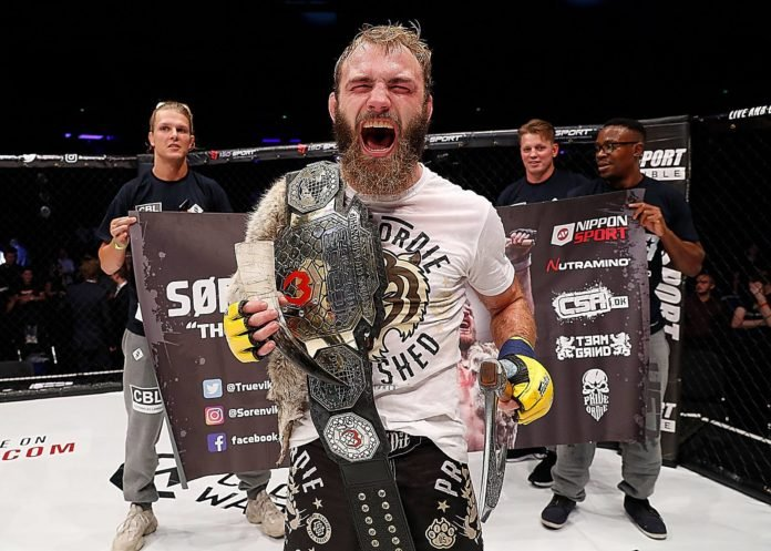 Soren Bak UFC Copenhagen