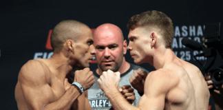 UFC 242 Edson Barboza Paul Felder