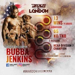 Brave CF 24 Bubba Jenkins